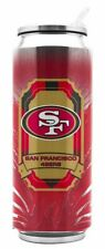 San Francisco 49ers NFL 16 oz THERMOCAN Stainless Steel Travel Mug Cup Tumbler