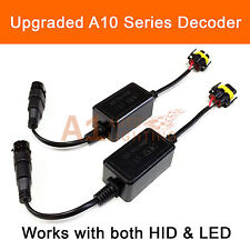 2x A10 EMC H11 Headlight Canbus LED Decoder HID Warning Canceller Anti-Flicker