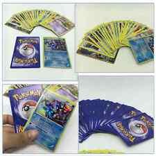 25Pcs Pokemon TCG Paper Card Lot Rare Common UNC Hole GUARANTEED EX Children