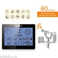 PRO Sans Fil Station Météo Horloge pour Humidité Température Baromètre Affichage