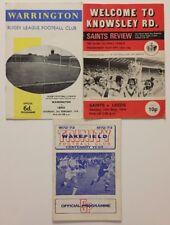 LEEDS Away v Warrington/St Helens/Wakefield   ~ 1970's ~ *FREE UK POST*