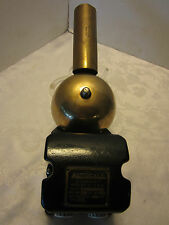 ANTIQUE cast iron & brass SHELBY 10 Watts 110 Volts 60 C Autocall Bell Alarm