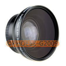 High Quality! 46mm 0.45x WIDE Angle + Macro Conversion LENS 46  0.45