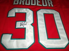 Martin Brodeur Hand Signed New Jersey Devils Jersey JSA Authenticated LOA X79092