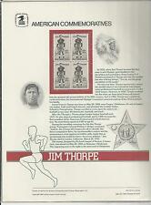 # 2089 JIM THORPE, OLYMPIC GOLD MEDALS 1984 Commemorative Panel