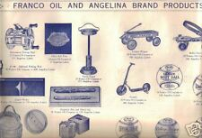 Franco Oil & Angelina Brand Products Premium Sheet Toys Housewares