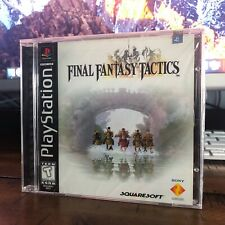 New listing Final Fantasy Tactics Sony PlayStation 1 Ps1 Black Label Sealed - No Reserve