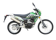 K-Sport Terra Motorrad - 125 ccm Crossbike EURO 4 Grün/Weiß