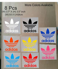 8 Pcs Adidas Iron On Heat Press Adidas Poly Flex Patch Sports Logo Diy T Shirt