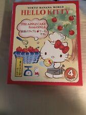 Sanrio Hello Kitty Tokyo Banana World The Apple Cake From Ginza Japan New In Box