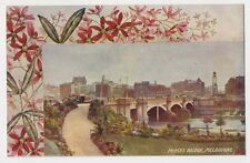 1909 Melbourne Australia old Princess Bridge Art Series postcard