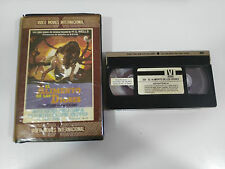 EL ALIMENTO DE LOS DIOSES THE FOOD OF THE GODS TAPE VHS COLECCIONISTA H.G. WELLS