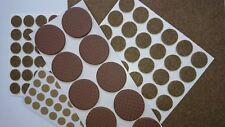 131 pc Self Adhesive Felt Pads Floor Anti Scratch Furniture Leg Protectors Brown