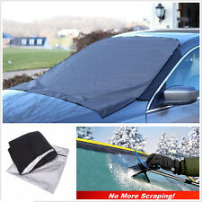 Car Front Window Glass Cover Foldable Snow Ice Frost or Sun Shade SUV Protector