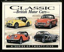 Classica BRITANNICA AUTO 50s & ANNI '60 COLLECTORS CARTA Set - jowett JENSEN