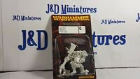 Games Workshop Warhammer Fantasy Battle Chaos Ogre 3 Champion Metal BNIB OOP