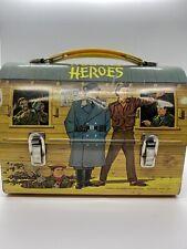 Vintage Original Hogan's Heroes Lunchbox. Aladdin Industries Inc. No Thermo