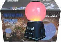 I-kool 4 Changing Colors Water Dancing Speaker Bluetooth 4.0 Wireless (Globe Bla