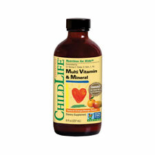 ChildLife Essentials Multi Vitamin & Mineral Orange/Mango Flavour 237ml/ 8fl.oz