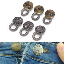 6x Waist Extender Pants Stretch Button Instant Fix Metal Elastic Expander S&K