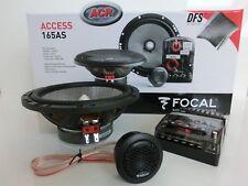 FOCAL ACCESS 165AS 2-Wege Komponenten System 16cm 160mm Auto Lautsprecher NEU