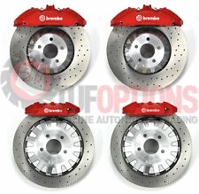 Ford FM Mustang Brembo GT350R RED 6 Pot Front & 4 Pot Rear Caliper & Disc Kit