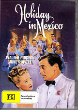 HOLIDAY IN MEXICO - WALTER PIDGEON & JANE POWELL NEW SEALED ALL REGION DVD