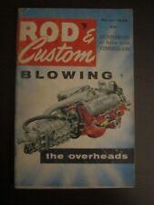 Rod & Custom Magazine March 1956 Blowing The Overheads (AJ)
