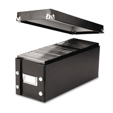 """Snap-N-Store CD Storage Box, 13.25"""" x 5.125"""" x 5.125"""", Holds up to IDESNS01521"""