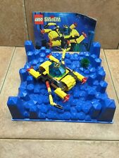 LEGO 6145 Crystal Crawler with instructions and blue crystal baseplate  Aquazone