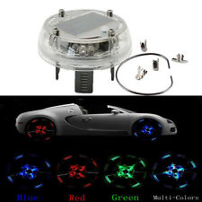 Car Wheel Center Caps Hub Solar 12 LED Flash Light Transformers Auto Bot