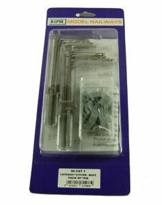 Dapol Catenary Masts 1:76 00 Gauge - Packs of x10