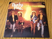 "BUCKS FIZZ - RUN FOR YOUR LIFE  7"" VINYL PS"