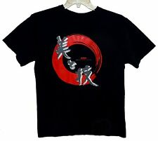 "Sz M Japan T-Shirt ""JAPANESE AESTHETICS and ART"" 100% Cotton Black Anvil"