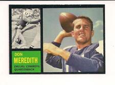 1962 T #39 Don Meredith SP