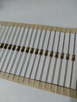 100pcs 100K Ohm Carbon Film Resistor 1/4W .25W 5%