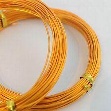 11m Aluminium Craft Beading Wire Jewellery Making, Floristry - 0.8mm - 1.0mm