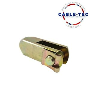 Clevis AssemblyJaw End 1/4 UNF   Cable Tec