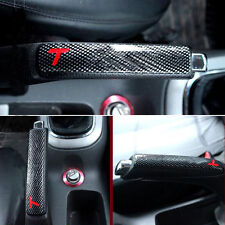 ABS Carbon Fiber Style Parking Hand Brake Handbrake Cover Trim For Cruze 09-2015