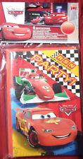 6x Einladungskarten Disneys Cars , 9,5cm x 14cm, mit  Umschlag.