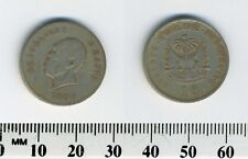 Haiti 1906 - 10 Centimes Copper-Nickel Coin - President Pierre Nord Alexis
