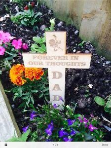 Personalised Memorial Remembrance Cross Funeral