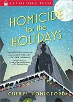 Viv and Charlie Mystery: Homicide for the Holidays 2 by Cheryl Honigford (2017,