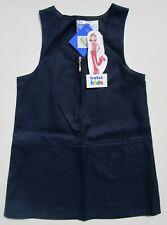 trutex Kids Girls Junior School Pinafore Teflon Front Zip Blue Age 3 BNWT
