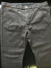 Louis Vuitton Jeans Sz 46 Brand New With Tags Brown with gold buttons