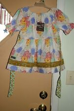 Matilda Jane Lovely Bouquet Peasant Top Girls Sz 8 NWT