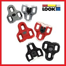 LOOK KEO ROAD BIKE BICYCLE CLIPLESS PEDALS GENUINE CLEATS - (Black / Grey / Red)