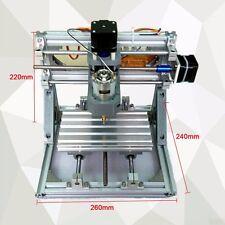 À faire soi-même Mini 3-Axis CNC routeur graveur PCB Pvc Fraise Wood Carving Machine Kit
