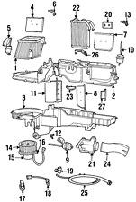 Genuine Mopar Heater Core 4720008