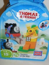 Thomas & Friends Mega Bloks Thomas at the Mill 15 pcs In Carry Bag Age 1-5